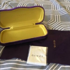 Gucci Accessories - Gucci Eyeglass Case